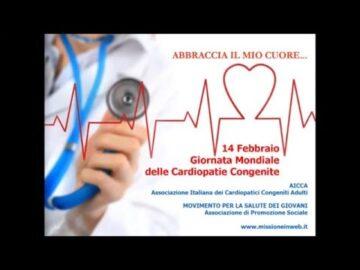 Il 14 Febbraio è la Giornata Mondiale sulle Cardiopatie Congenite