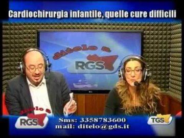 Ditelo a RGS del 4 aprile 2104 Carenze assistenziali specialistiche di 3 livello per i Cardiopatici Congeniti Adulti Siciliani